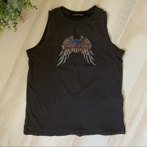 Harley Davidson Graphic Tank  Size Small